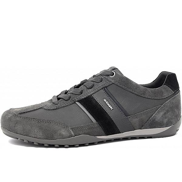 Geox He.-Schuh Schnürhalbschuh grau