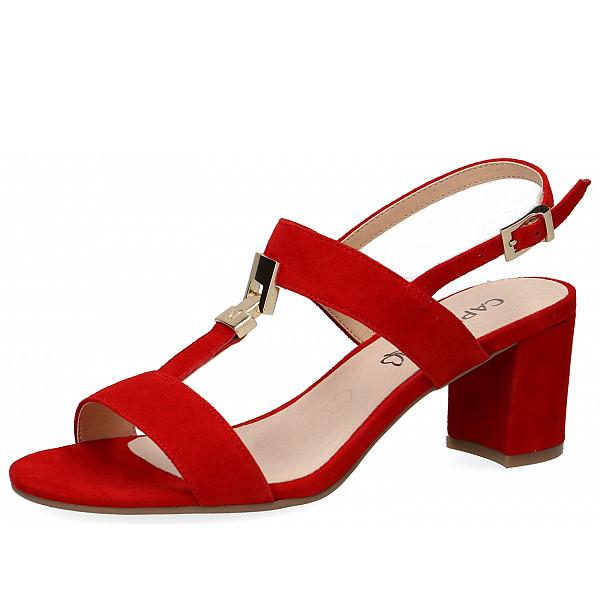 Caprice Sandalen red