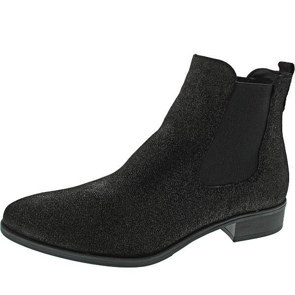 Tamaris Chelsea-Boots black metallic