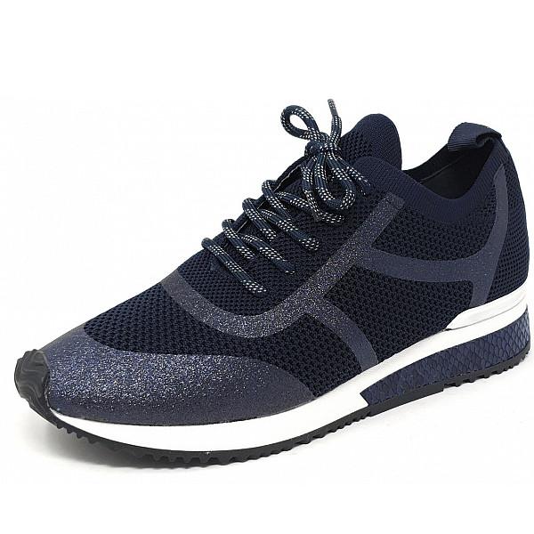 La Strada La Strada Sneaker blue knitted