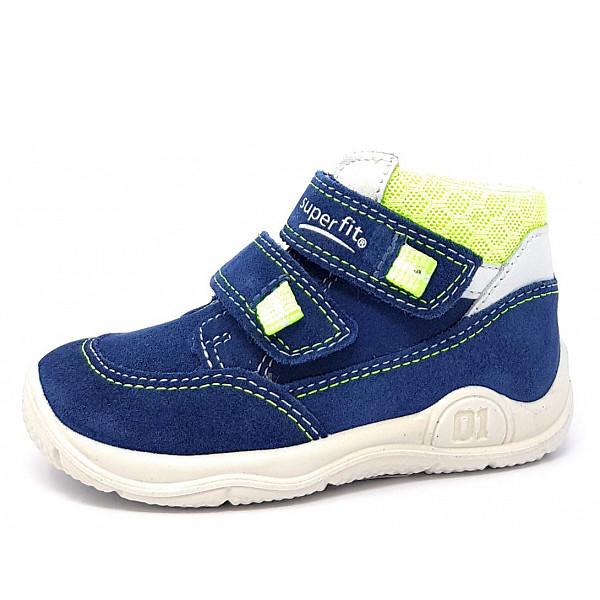 Superfit Ki.-Schuh Kinderschuh blau/gelb
