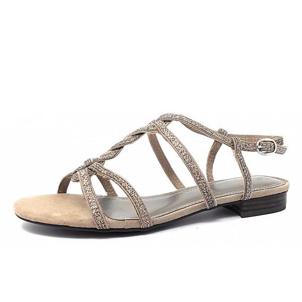 Marco Tozzi Da.-Sandale Sandale taupe
