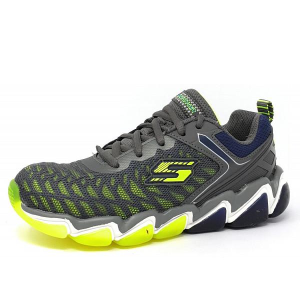 Skechers Downplay Sneaker grey/lime