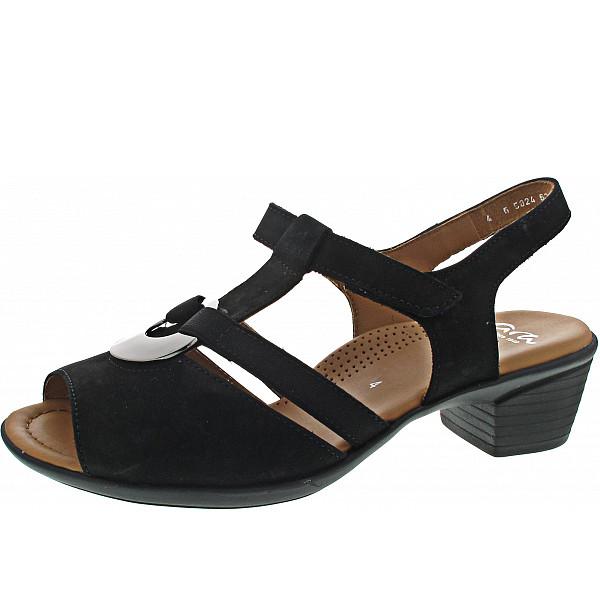Ara LUGANO Sandalette SCHWARZ