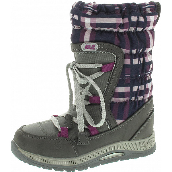Jack Wolfskin Girls Snow Bird Stiefel mallow purple