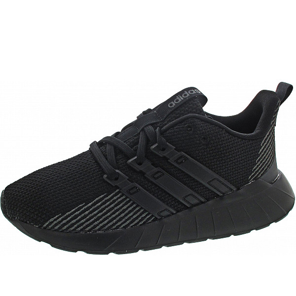 Adidas Questar Flow K Sneaker cblack/cblack/gresix