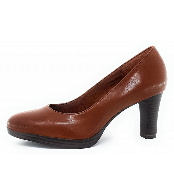 Tamaris Pumps 306 brandy