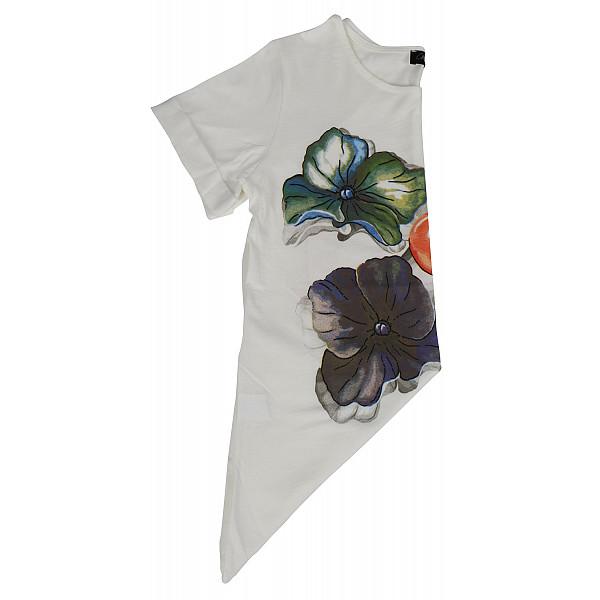 laufsteg münchen T-Shirt Damen weiß