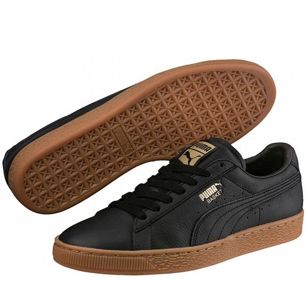 Puma Basket Classik Deluxe Sneaker schwarz