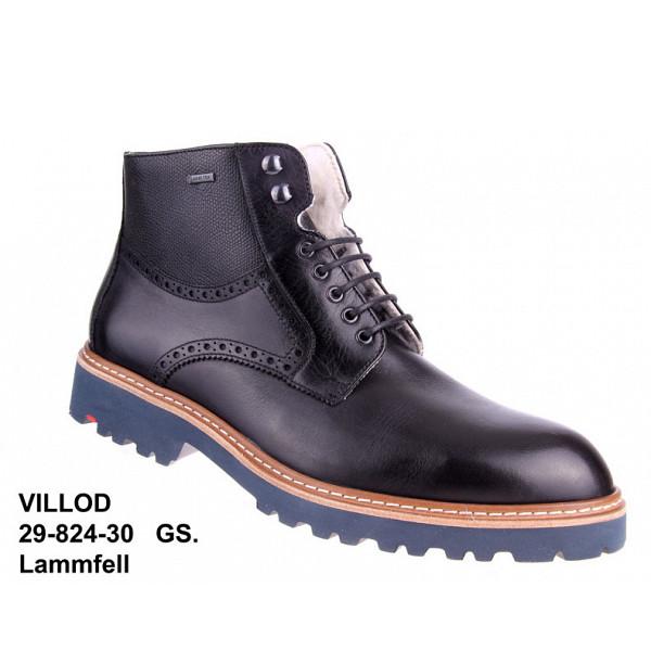 Lloyd Villod schwarz GTX Boots SCHWARZ