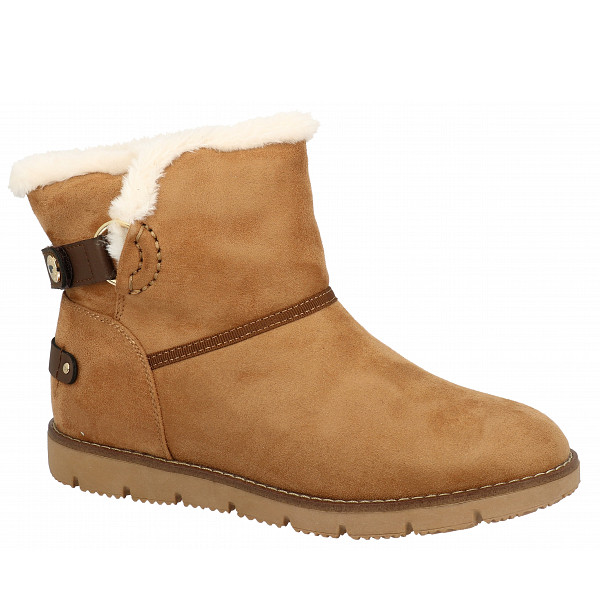 Tom Tailor Winterstiefel camel