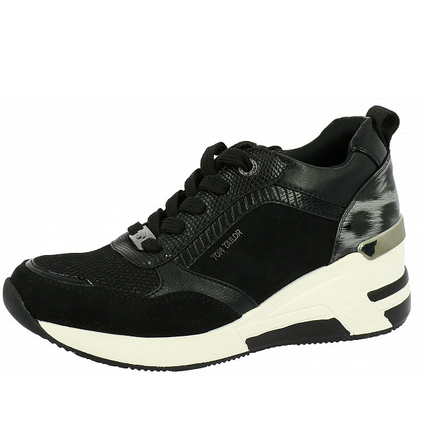 Tom Tailor Sneaker black