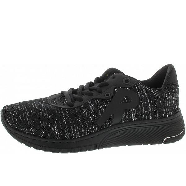 Rieker Sneaker schwarz-silber/schwa