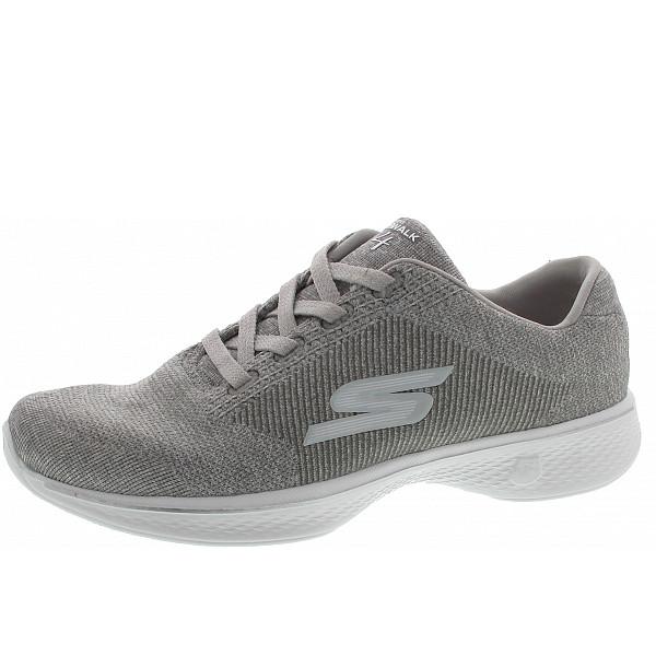 Skechers Go Walk 4 Cherish Slipper gray