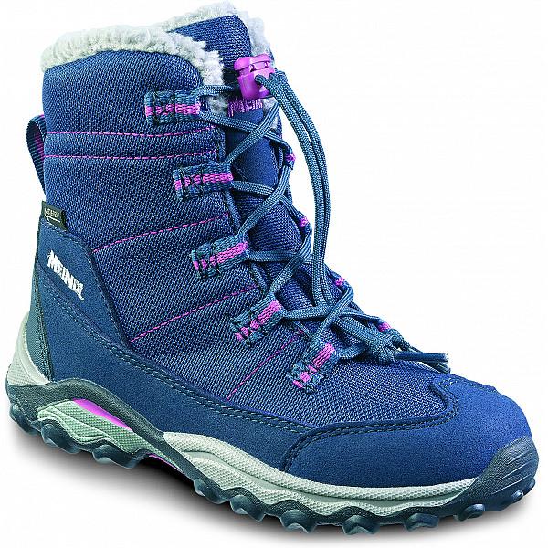 Meindl Yolup Junior GTX WF blau Boots nachtblau/viola