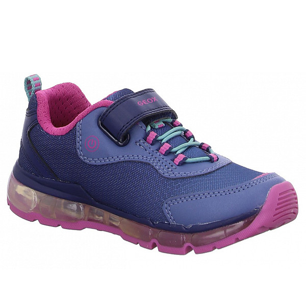 Geox J ANDROID G. A - MESH PRL.GBK Sneaker NAVY
