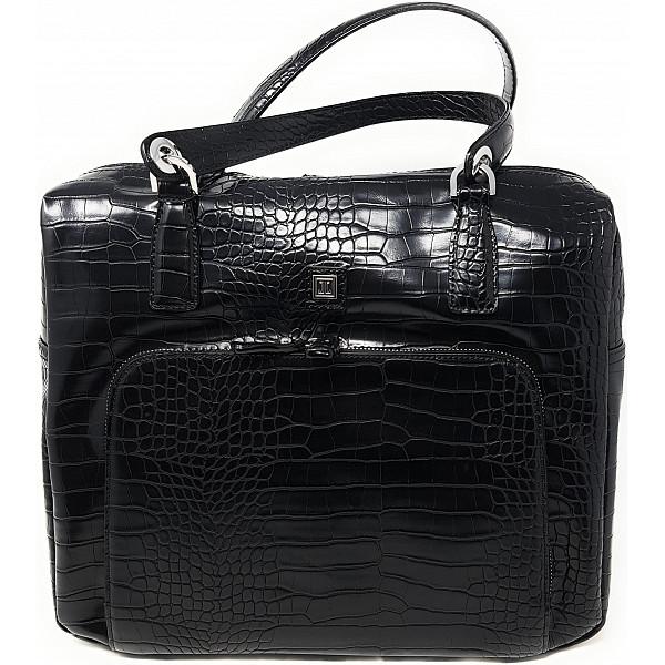 Jette Joop Tasche black shiny silber