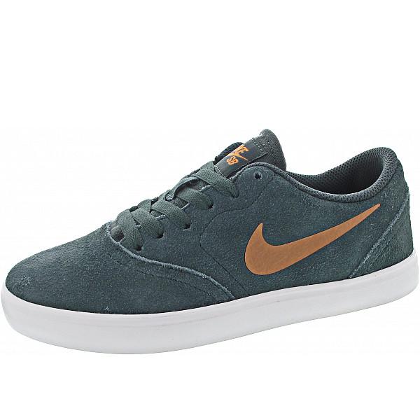 Nike SB Check Suede Ess+ (GS) Sneaker faded spruce-metallic