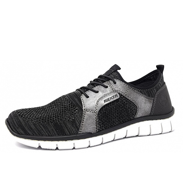Rieker Slipper 43 grey blk