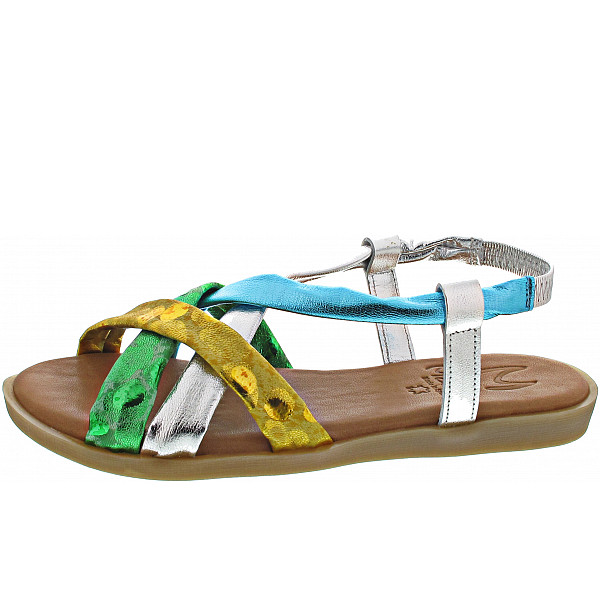 Marila Sandalen tries multicolor