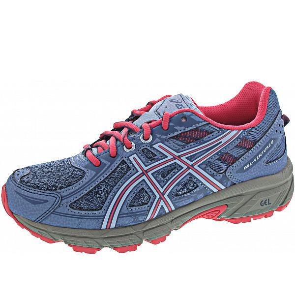 Asics Gel-Venture 6 GS Sportschuh blue harmony-pink cameo