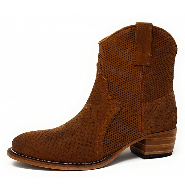Only a Shoes Stiefelette 3300 cognac
