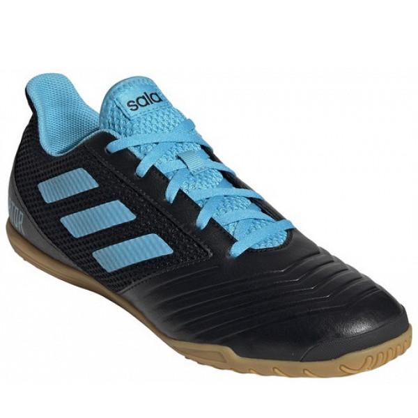 adidas Predator Indoor Fußballschuh Halle black/blue