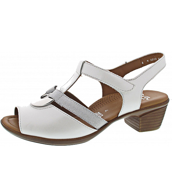Ara LUGANO Sandalette WEISS