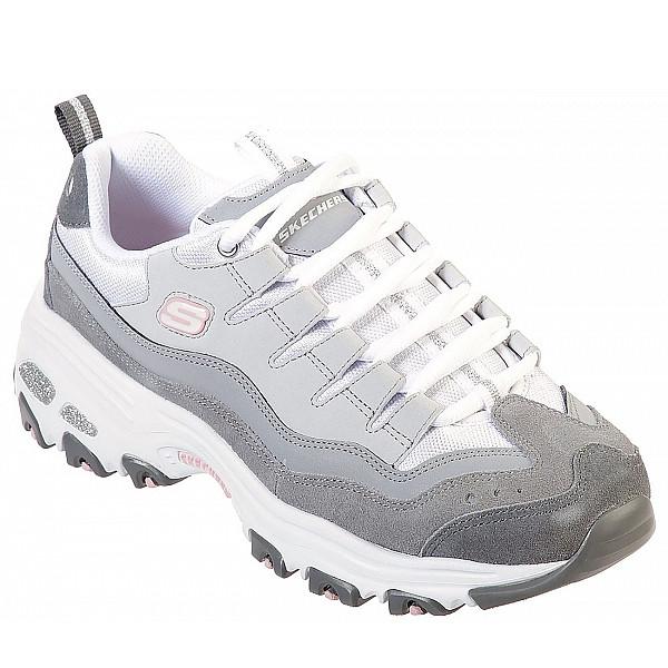 Skechers Sneaker grey/ white/ pink