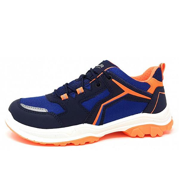 Superfit Sneaker BLAU/ORANGE