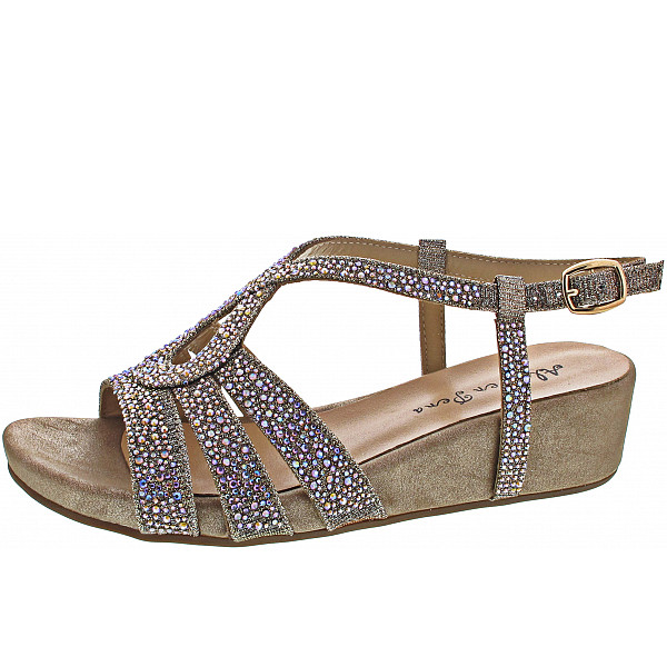 Alma en Pena Sandalette bronce