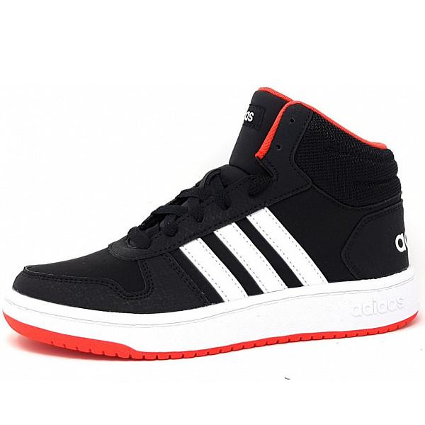 adidas Hoops Mid Sportschuh core black