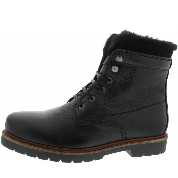 All about shoes Schnürstiefel black