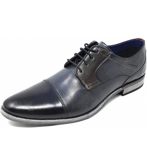 Bugatti Luano Businessschuh drk. blue grey