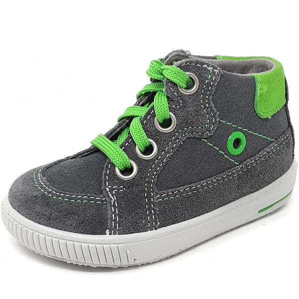 Superfit Schnürer grau grün