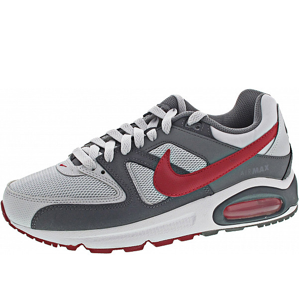 Nike Air Max Command Sneaker pure platinum-gym red