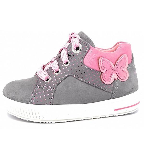 separation shoes c07ad a1d49 Superfit Moppy Kinderschuh hellgrau 4-09361-25 Weite mittel |...