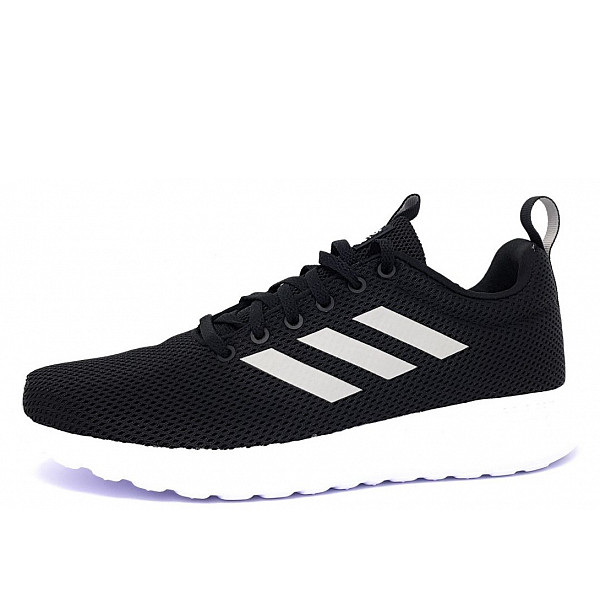 brand new affordable price shoes for cheap adidas Lite Racer Cln Laufschuh in schwarz/grau/weiss