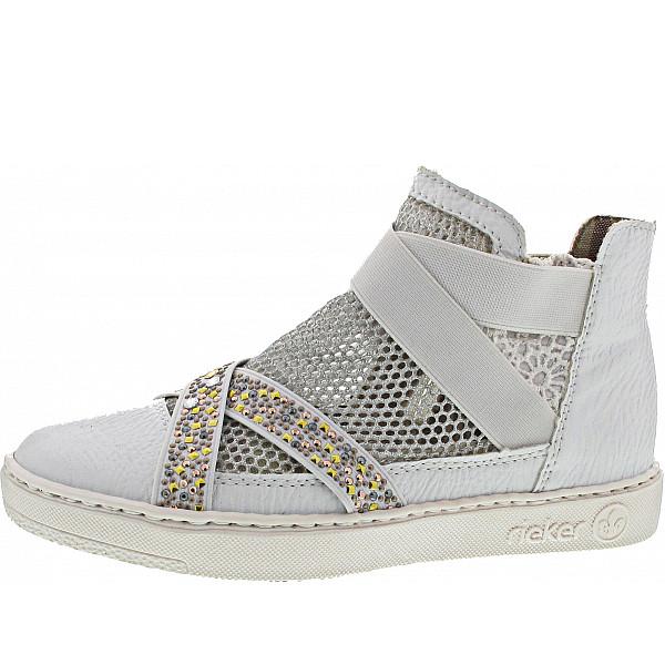 Rieker Sneaker weiss-silber