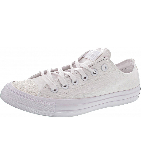 Converse Chuck Taylor All Star Sneaker whtie-white-silver