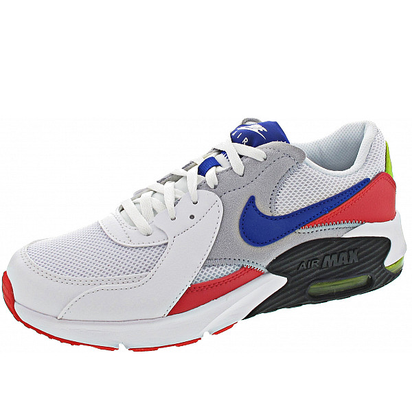 Nike Air Max Excee (GS) Sneaker in white hyper blue