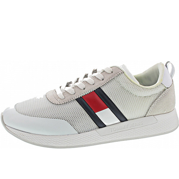 Tommy Hilfiger Jeans Flag Sneaker Sneaker white