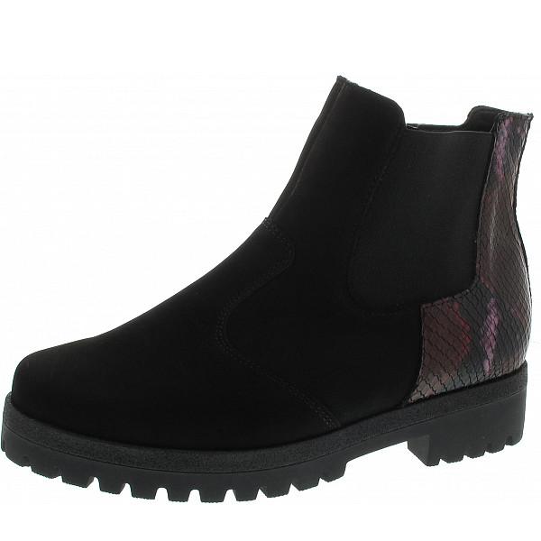Waldläufer Hanako Chelsea-Boots schwarz brunello