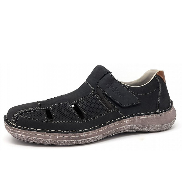 Rieker He.-Schuh Slipper 14 ozean