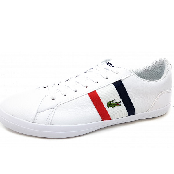Lacoste Sneaker white red navy