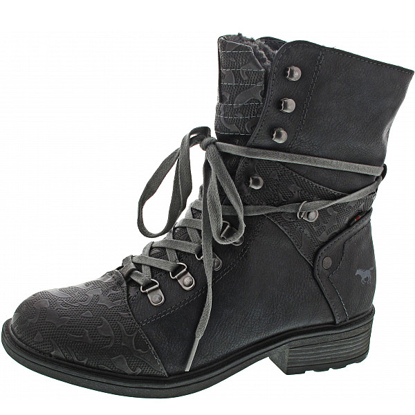 Mustang Stiefelette navy