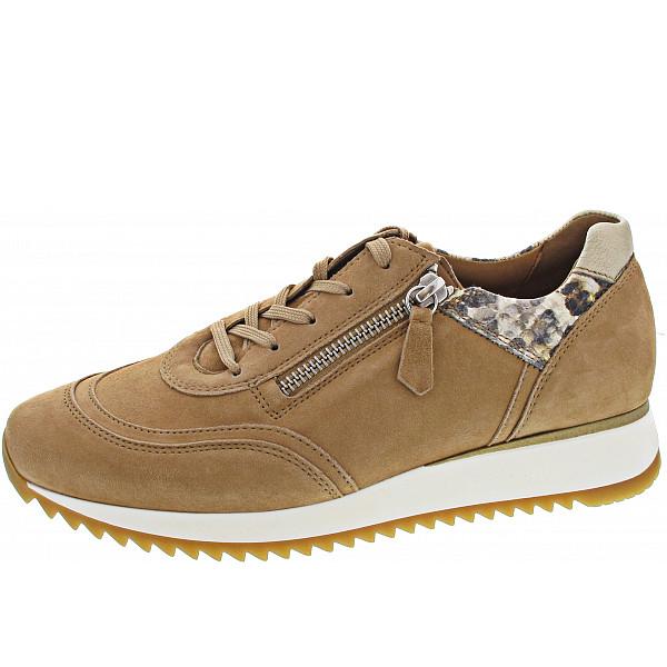 Gabor Comfort Sneaker caramel/creme/p