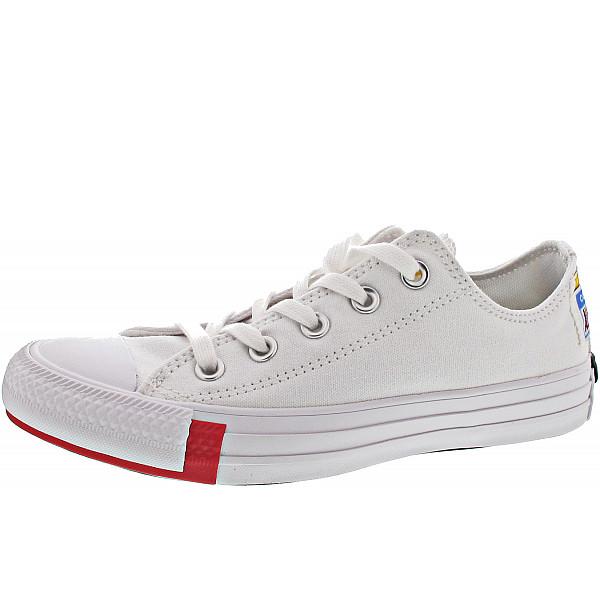 Converse Chuck Taylor All Star Chucks white-red
