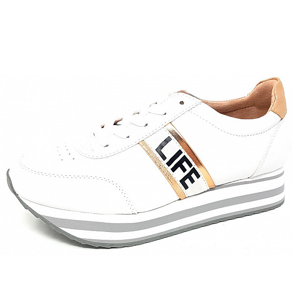 Jane Klain Sneaker white