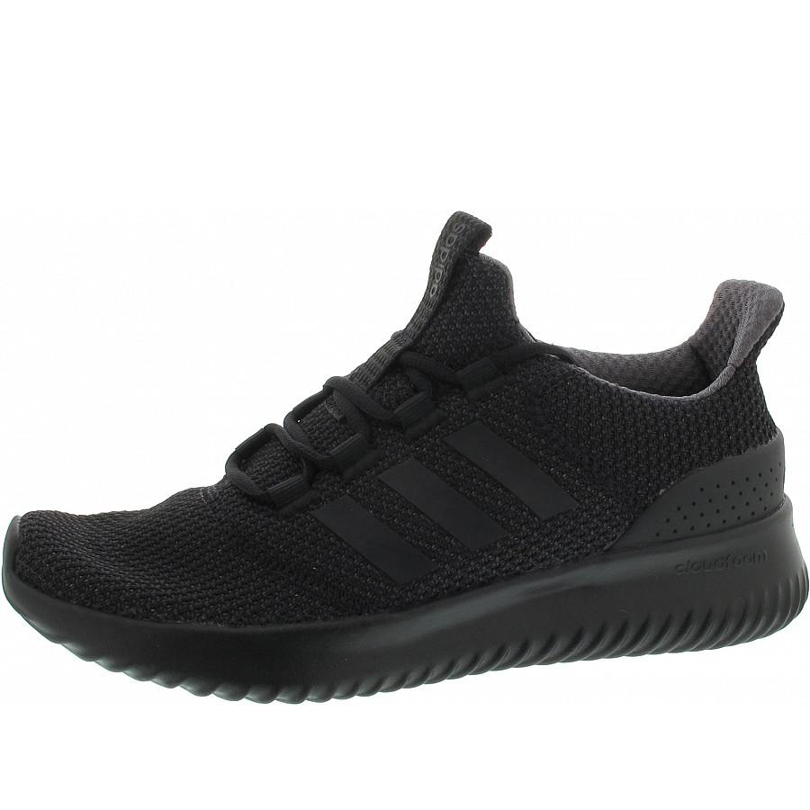 Adidas Cloudfoam Ultima Sneaker in core black